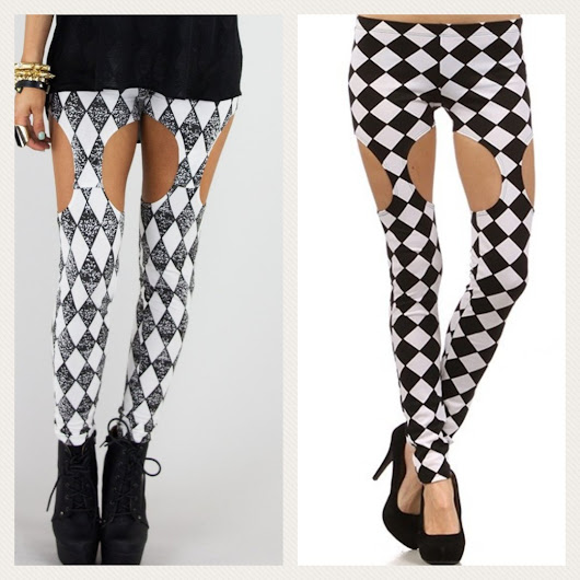 So Cute — Checkered Leggings Checkered Leggings, a...