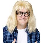 SNL Garth Algar Wig & Glasses