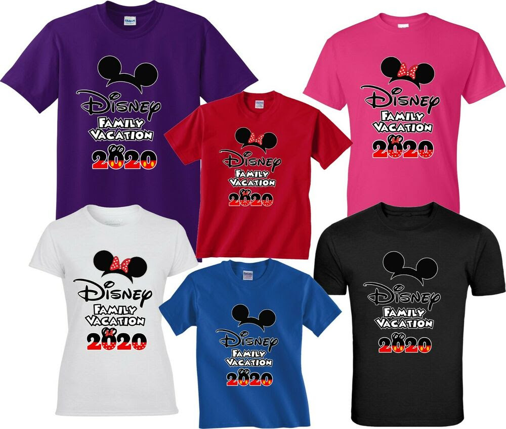 DISNEY FAMILY VACATION 2017 T-SHIRTS DISNEY CUTE ALL SIZES ...