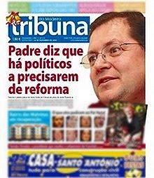 capa Tribuna da Madeira