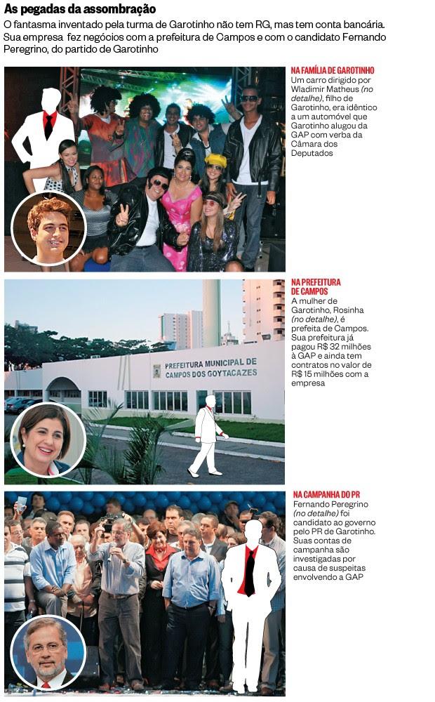 As pegadas da assombração (Foto: Reprodução(2), Paulo Araújo/Ag. O Dia, Folhapress e Ag. O Dia (2))