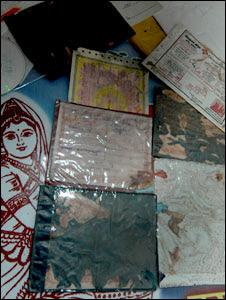 Dwarika Prasad's documents destroyed by termites (Pic: Prashant Ravi)