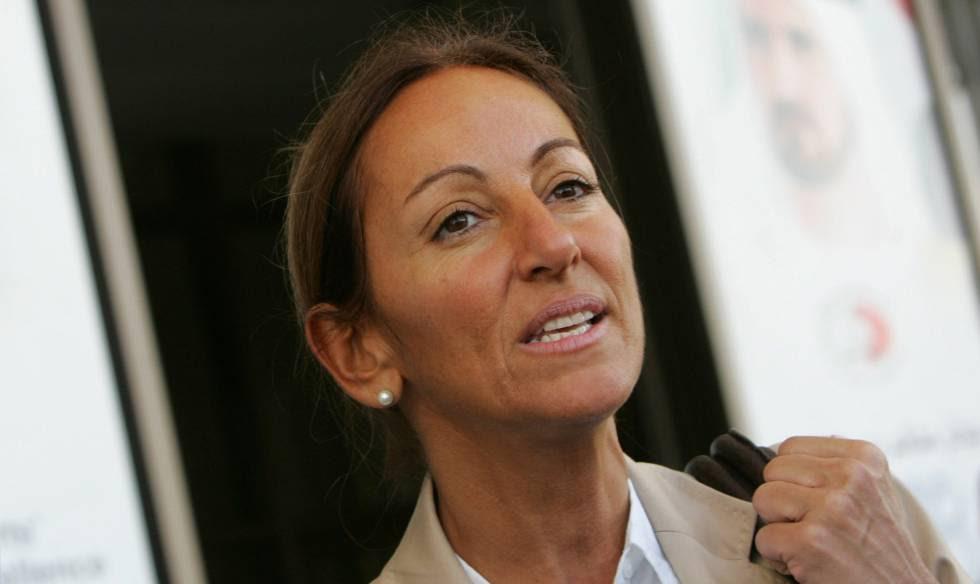 La periodista francesa Verónique Robert, en una imagen de 2007 en Dubái.