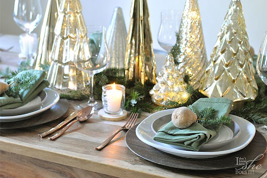 5 tips to style your Holiday dinner table