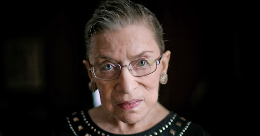 Ruth Bader Ginsburg's Advice for Living - The New York Times