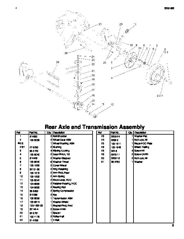 Wiring Diagram Source: Toro Recycler 22 Parts Diagram