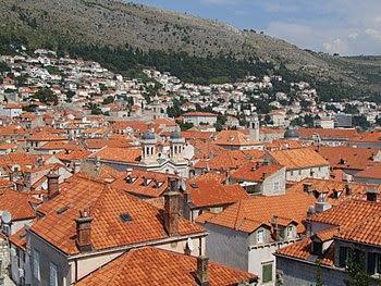 English: Dubrovnik - rooftops