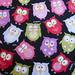 tecido importado (USA): Owls - IMP/01