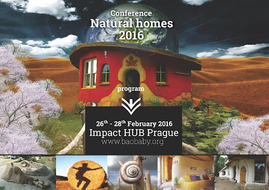 The Natural Homes Conference 2016 in Prag - Strohballenbau