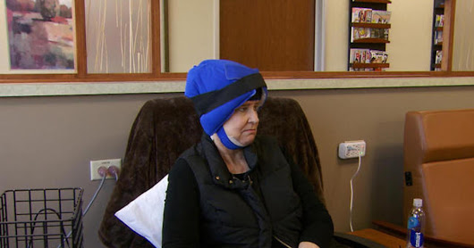 Cold caps help breast cancer patients save their hair