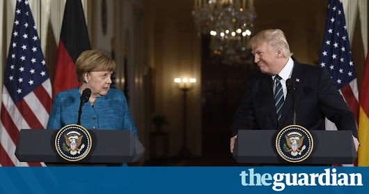 'That's not how it works': Trump's grasp of Nato questioned after Merkel tweets | World news | The Guardian