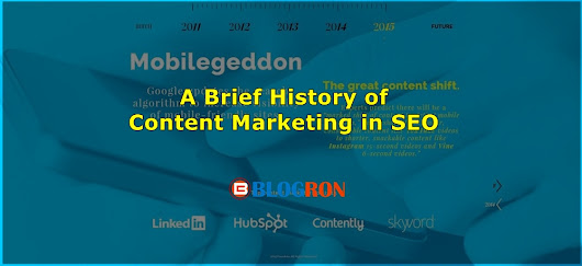 A Brief History of Content Marketing in SEO
