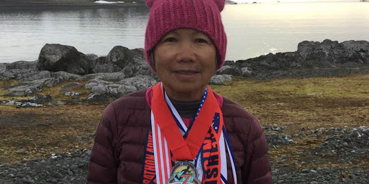 This 70-Year-Old Woman Ran A Marathon On Every Continent In 1 Week