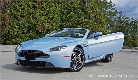 2016 Aston Martin V8 Vantage Roadster Road Test Review at Aston Martin Vancouver