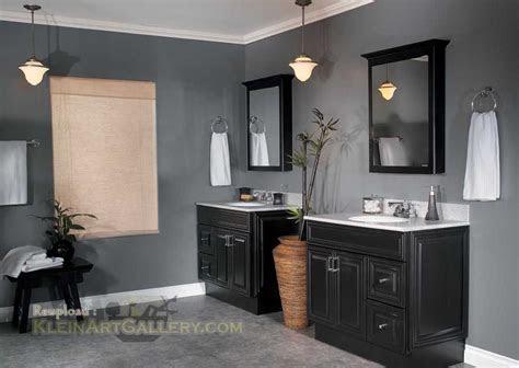 bathroom color ideas  dark cabinets bathroom