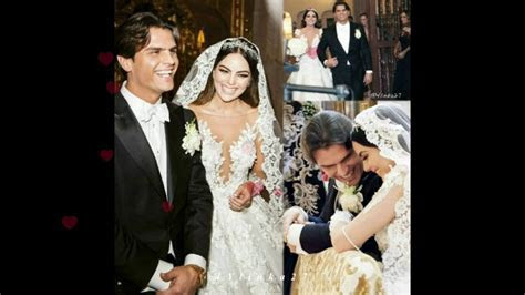 The most beautiful couple:Ximena Navarrete and Juan Carlos