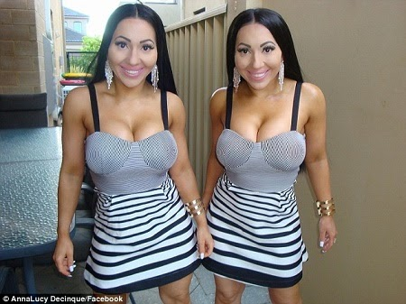 The World's Most Identical Twins Sisters Who Share a Boyfriend Now Set To Marry Him (Photos)