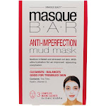 Masque Bar - Anti-Imperfection Facial Mud Mask - 3 Count
