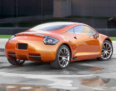 Mitsubishi Eclipse Concept-E rear