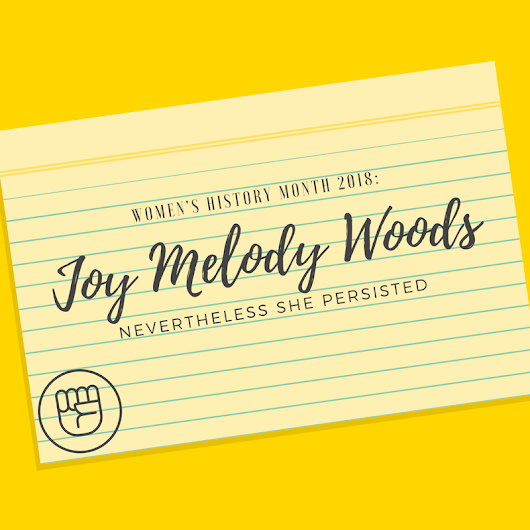 Joy Melody Woods: Fighting Depression at withoutaspace.com