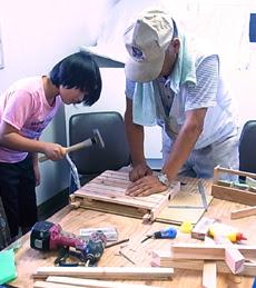 夏休みフェスティバル,三重木工クラブによる木工教室