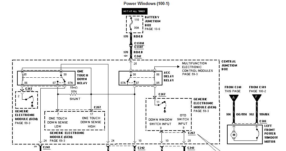 F150 Power Windows Wiring Diagram For 2010 Box Wiring Diagram