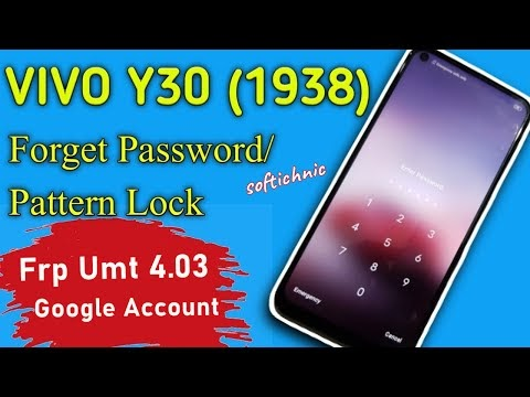 Vivo Y30 Frp Bypass Without PC Android 10 || Vivo 1938 Frp Unlock New Me...