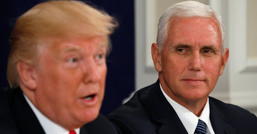 Trump Reportedly Joked That Pence 'Wants To Hang' All Gays   HuffPost