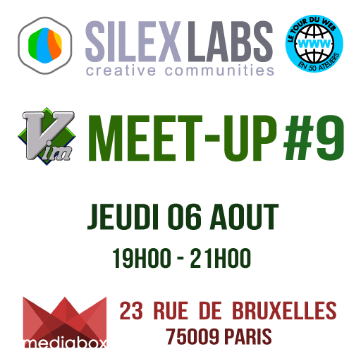 "VIM MEET-UP #9 : ""Let's Vim together again!"" - Silex Labs"