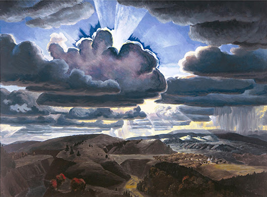 Exhibition on American Modernist Charles E. Burchfield to Open at Montclair Art Museum