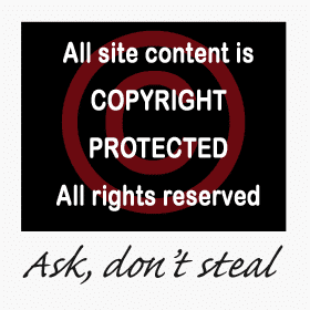 This site is copyright protected - Click to get the badge