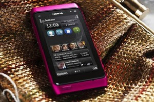 Nokia N8 rosa lançado com Symbian Anna (Foto: Divulgação)