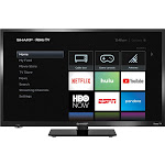"Sharp LC 24LB601U - 24"" LED Smart TV - 720p"