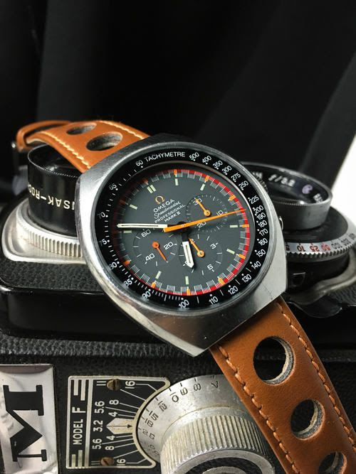 omega speedmaster mark in leather | Watch TIME are you ? | Pinterest | Omega speedmaster and Omega
