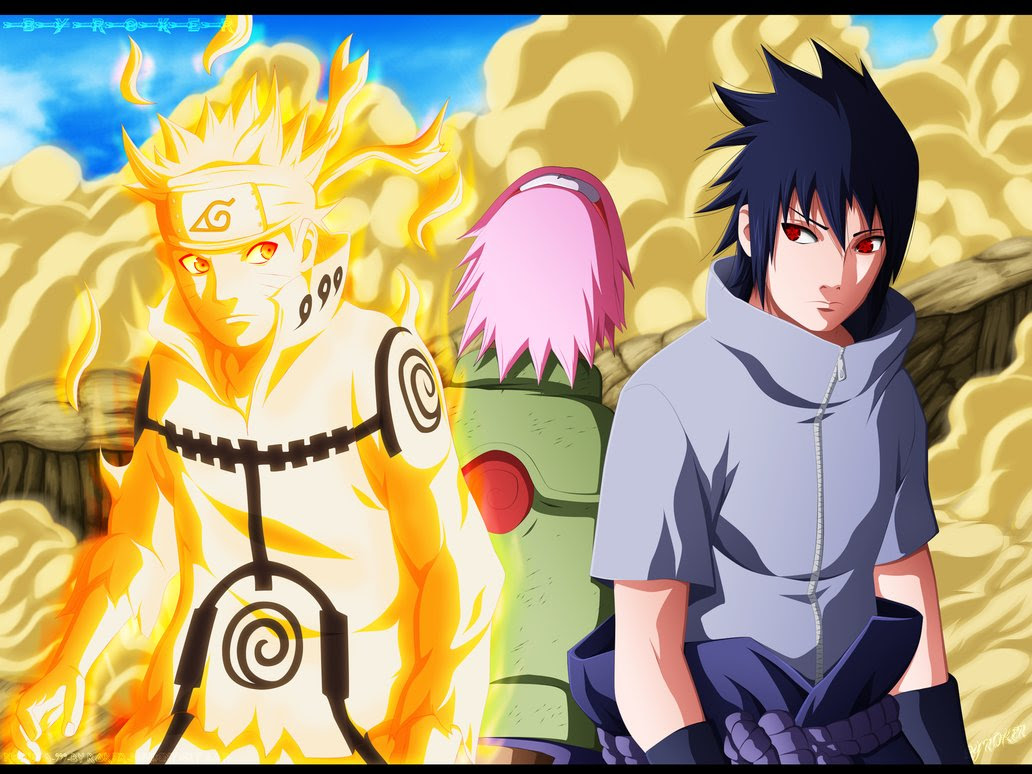 *Team 7* - Naruto Shippuuden Wallpaper (35715147) - Fanpop