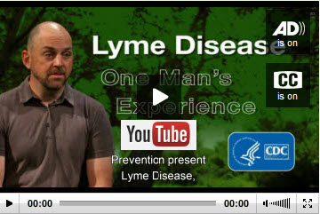 You Tube version of One Man's Experience with Lyme Disease