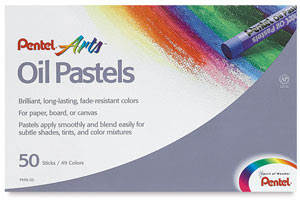 Oil Pastels, Set of 50