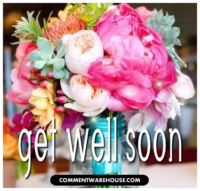 Get Well Soon Flower Bouquet Commentwarehouse Say It With A Pic