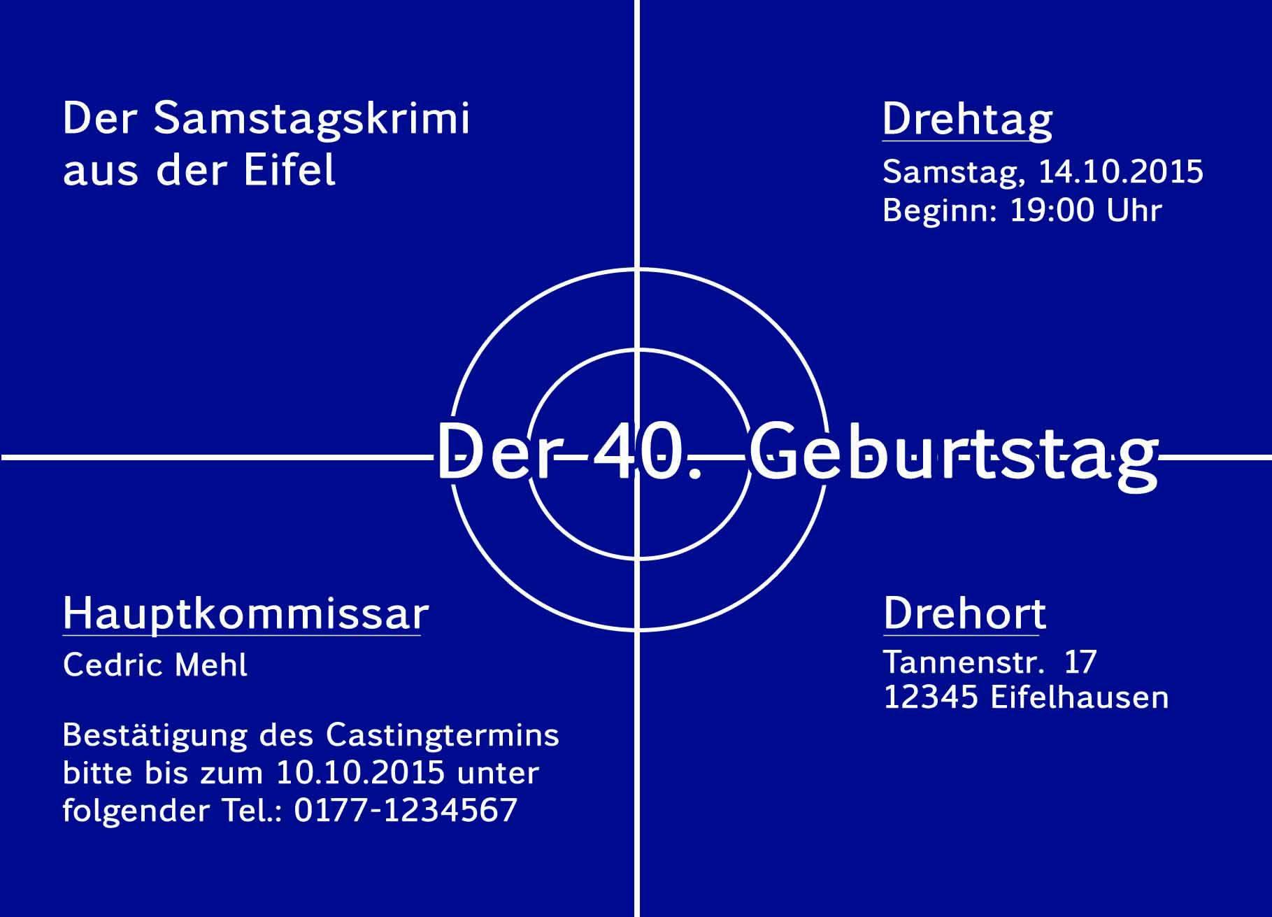 Einladung 40 Geburtstag Spruche Gute Spruche Bild