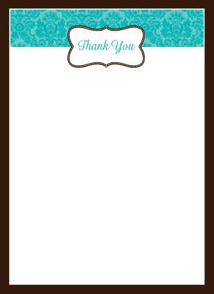 Traditional Monogram   Wedding Thank You Card   Look Love Send