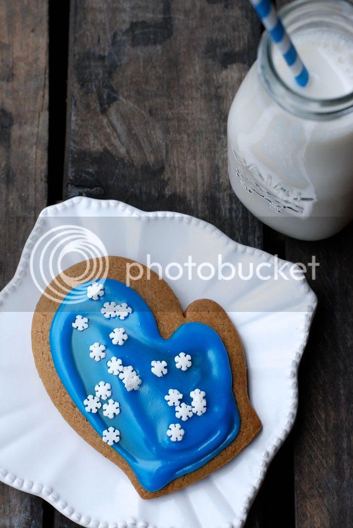 leaves and flours vegan gingerbread cookies