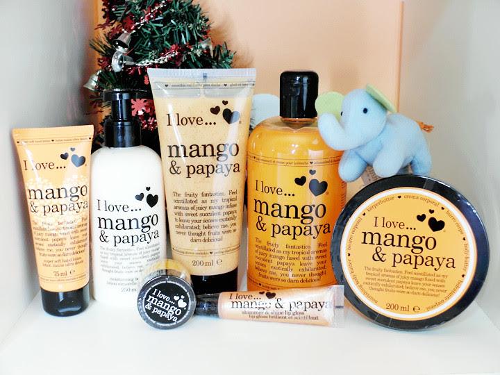 Papaya Mango iLove Christmas set
