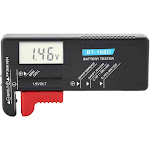 Battery Tester, Universal Digital LCD Tester Checker Monitor... by Adesso Power