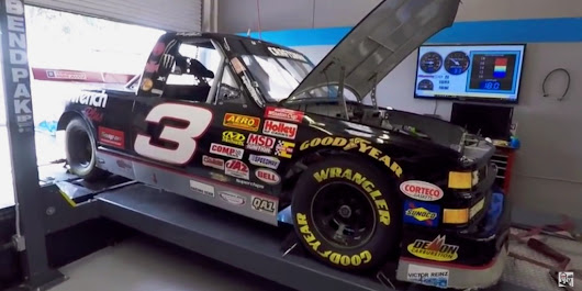 Cleetus McFarland Takes His NASCAR Truck For Some Precision Dyno Tuning: Video