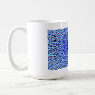 Fractal Blue Eye 121212 Mug