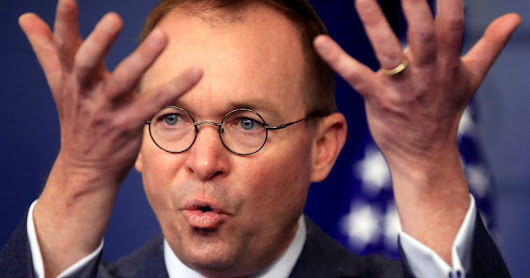 Trump says budget director Mick Mulvaney to take over as acting chief of staff - U.S. News - Haaretz.com