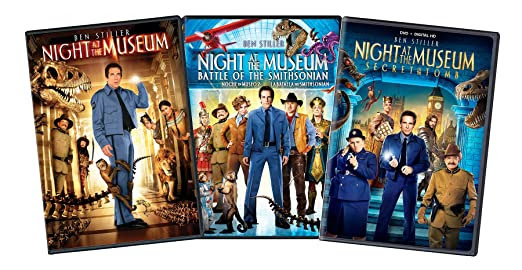 Night Museum 1-3 Bundle-az