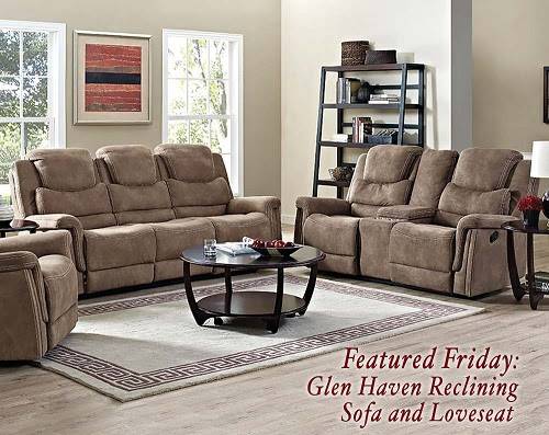 Featured Friday: Glen Haven Reclining Sofa and Loveseat