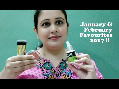 January and February Favourites 2017!! New Video!!