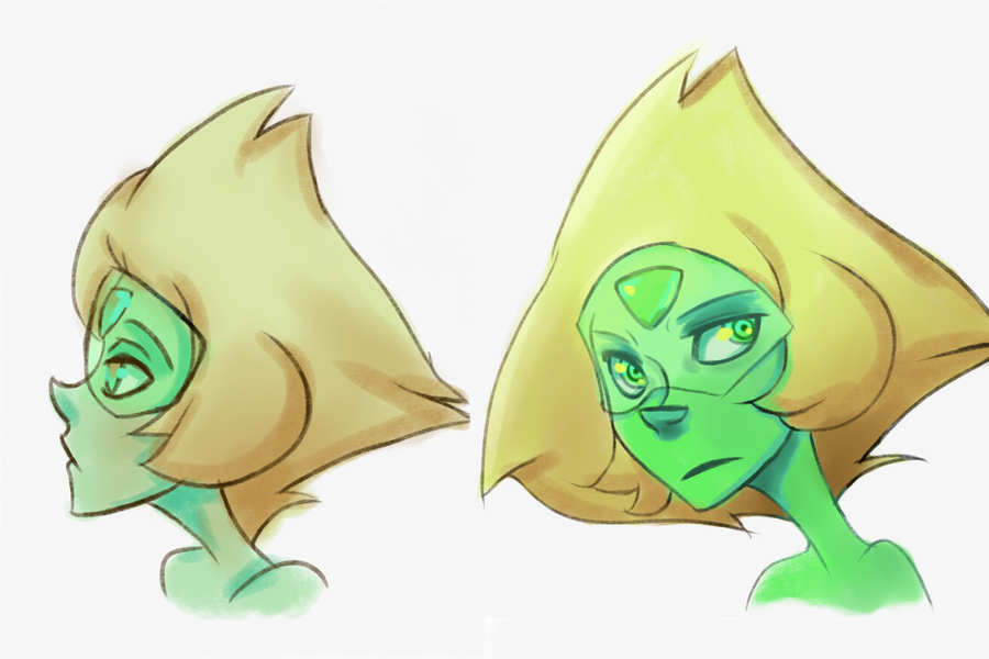 Fucking around with coloring and decided to use Peridot.
